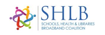 Schools, Health and Libraries Broadband Coalition logo
