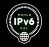 IPv6 black icon